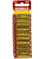 Winmax Extra Alkaline AAA Battery: 10 Pack