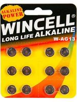 Wincell AG13 Coin Battery: 12 Pack